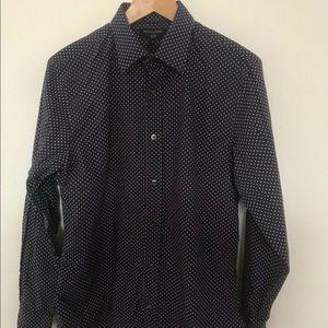Banana republic dress shirt M slim fit Long sleeve